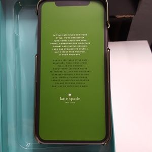 """kate spade Accessories - Case kate spade for iphone x/xs 5.8"""" black new"""
